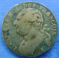 France - Frankrijk : Constitution - 12 deniers - Louis XVI - 1792 A (Paris)