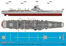 Peddinghaus 1/1250 HIJMS Taiho Japanese Aircraft Carrier Markings 1944 WWII 3254