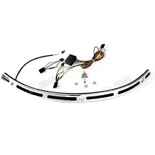 Illuminated Windshield Trim For Harley Touring Street Glide FLHX CVO 14-16 17