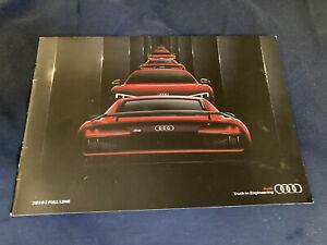 2016 Audi Full Range USA Market Color Brochure Catalog Prospekt