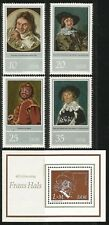 Germany (East) DDR 1980 MNH - Art - Artist Frans Hals Paintings (Set Minisheet)