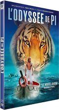 DVD  :  L'ODYSSÉE DE PI  [ Suraj Sharma, Irrfan Khan ]  NEUF cellophané