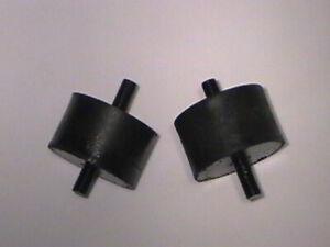 STUDEBAKER & AVANTI FRONT V-8 ENGINE MOUNT SET 232 259 289 1953-64 # 533296