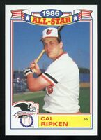 CAL RIPKEN JR 1987 Topps All-Star Commemorative Set #16 of 22 Baltimore Orioles