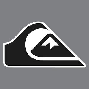 Quiksilver Surfing Vinyl Sticker / Decal *Boardshorts*Rash Gaurds*Snowboarding*