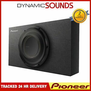 "Pioneer TS-D10LB 10"" D Series Shallow-Mount Pre-Loaded Subwoofer System"