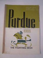 1964 NOTRE DAME VS PURDUE COLLEGE FOOTBALL PROGRAM - TUB CBB