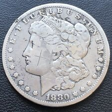 1880 CC Morgan Dollar $1 Silver Better Grade Graffiti #1921