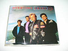 LEVEL 42 - OVERTIME * 4 track CD MAXI AUSTRIA 1991 *