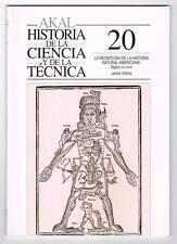 La recepción de la Historia Natural Americana s. XVI-XVIII - Jaime Vilchis **