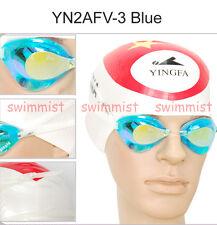 NEW YINGFA YN2AFV BLUE SWIMMING GOGGLES ANTI-FOG UV PROTECTION CLASSIC STYLE!!!!