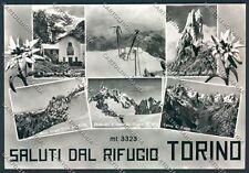 Aosta Courmayeur Saluti da Foto cartolina C2544 SZD