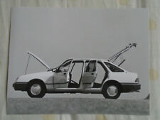 Ford Sierra press photo Sep 1982 German text v13