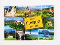 Füssen Neuschwanstein Allgäu Fridge Foto Magnet,Germany Deutschland,Souvenir