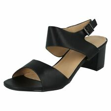 Sandals Block Synthetic Casual Heels for Women