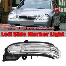 Left Door LED Mirror Turn Signal Indicator Light For Mercedes Benz W203 2004-07