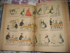 """""""La Semaine de Suzette"""" Tête de Collection 1905 52 num 2vol Bécassine Pinchon EO"""