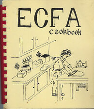 ECFA 1985 EVANGELICAL CHILD & FAMILY AGENCY COOK BOOK WISCONSIN & ILLINOIS RARE