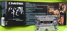 CHASTAIN - FOR THOSE WHO DARE MC CASSETTE TAPE 1990. LEATHER LEONE CJSS RULER