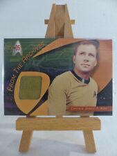 Star Trek 35th Anniversary TOS Costume Wardrobe Card CC1 Shatner as Captain Kirk