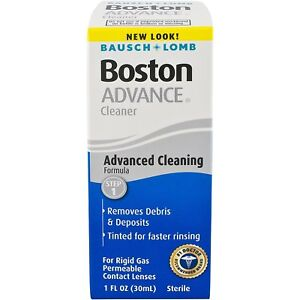 Bausch + Lomb Boston Advance Cleaner Step 1 for Contact Lenses 1 oz