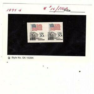 US stamp  # 1895d 1981 20c MNH Imperforate Pair (mb22
