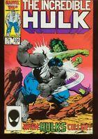 Incredible Hulk # 326 DECEMBER 1986 NEAR MINT- Marvel COMICS INV: 22103