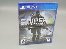 Sniper: Ghost Warrior 3 Season Pass Edition PlayStation 4 PS4 *NEW*  SHIPS FAST