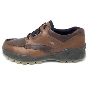 ECCO Track II Low Mens Sz 44 US 10/ 10.5 M Brown Black Leather Gore-Tex Shoes