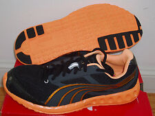 NEW in box Puma Faas 400 running shoes mens 8 = women's 9.5 black/orange