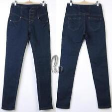 Machine Washable Petite High Waist Jeans for Women