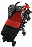 Footmuff/Cosy Toes Compatible with Maclaren Spitfire Pushchair