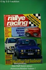 Rallye Racing 7/86 Lancia HF Abt Golf Kissling Kadett