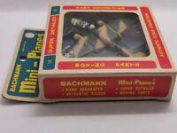 rare , Avion Vintage Bachmann Mini Planes Mitchell Bomber B-25 Original Box