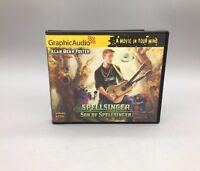 Graphic Audio BK 7 Spellsinger Son of Spellsinger Audio 6 CD's - Fast Ship - B25