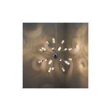 GLACIER  CEILING PENDANT LED  CHROME RRP £299 OUR PRICE CLEARANCE OFFER £160.00
