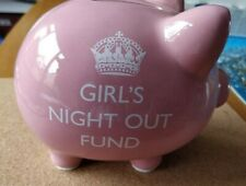 Girls night out fund. Piggy Bank.  Brand new in box