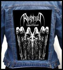 RAVENCULT - Temples of Torment --- Huge Jacket Back Patch Backpatch