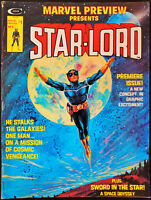 Marvel Preview Presents #4 First Appearance of Star-Lord 1976 Extra Staples