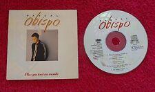 """1 CD single promo 5 titres de PASCAL OBISPO """"Plus que tout au monde"""""""