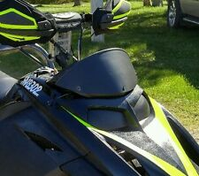 Ski-Doo Rev Low Black Windshield w/ Black Trim *Gloss or Flat finish*