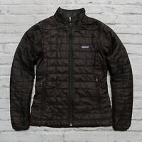 Patagonia Nano Puff Jacket Womens Size XS Quilted Black