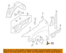 NISSAN OEM 11-14 Murano Front Fender-Lower Molding Trim Panel Left 638731GR0A