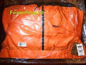🔥 VANS NASA Anorak Water Resistant Jacket men's LARGE (SEALED)