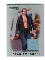 WWE Dean Ambrose 2016 Topps Heritage Silver Survivor Series Mat Relic Card 47/50