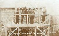 "COWBOY OUTLAW TOM "" BLACK JACK "" KETCHUM - 1901 HANGING REAL PHOTO POSTCARDS"