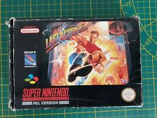 RARE Super Nintendo SNES LAST ACTION HERO Boxed Boite OVP PAL SNSP-L5-FAH / AUS