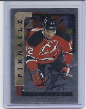 1996-97 BE A PLAYER BILL GUERIN AUTOGRAPH SILVER AUTO 29 NEW JERSEY DEVILS