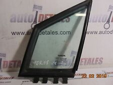 Toyota Corolla Verso front left quarter glass 68216-0F010 used 2005