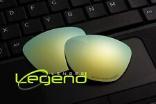 E41 Gold ETCHED POLARIZED Replacement Legend Lenses For Oakley FROGSKIN